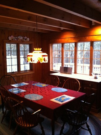 Harwich Cape Cod vacation rental - Dining Room across from Kitchen
