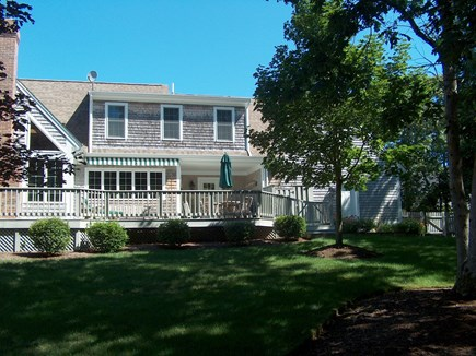 Harwich Cape Cod vacation rental - Back of House with Outdoor Shower