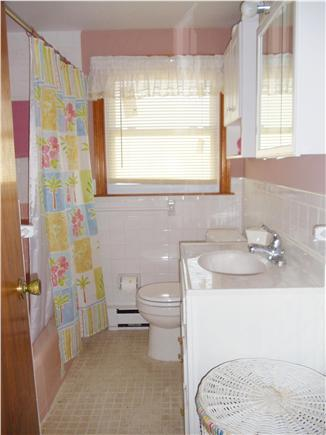 Dennis Port Cape Cod vacation rental - Bathroom with chair height toilet