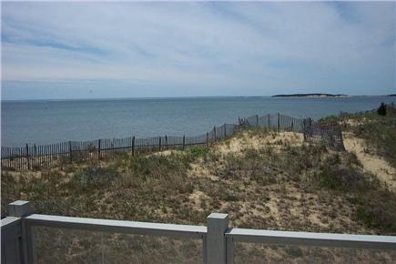 Wellfleet Cape Cod vacation rental - View from balcony deck