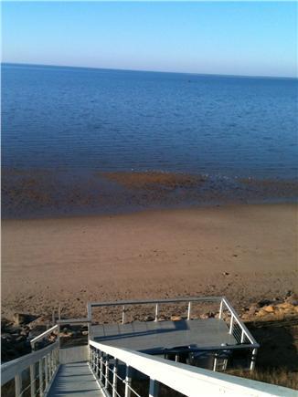 Wellfleet Cape Cod vacation rental - Enjoy your private beach deck