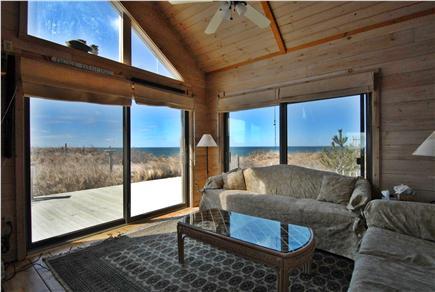 Wellfleet Cape Cod vacation rental - Bright open comfortable living room