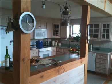 Wellfleet Cape Cod vacation rental - open kitchen and bar