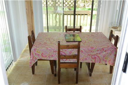 Centerville Centerville vacation rental - Dining/Sunroom
