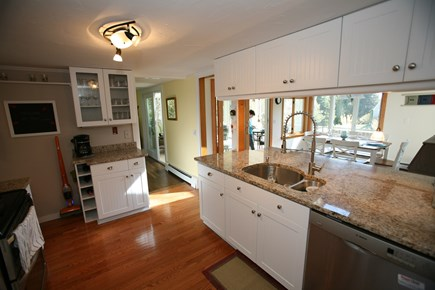 East Orleans Cape Cod vacation rental - Fully equipped gourmet kitchen. Fridge w/icemaker.