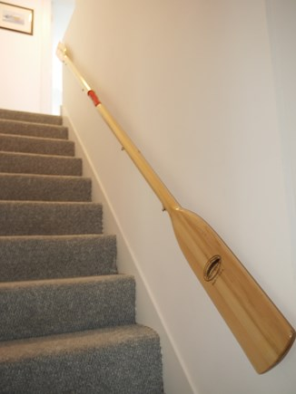 East Orleans Cape Cod vacation rental - Whimsical stairway to 2nd floor.