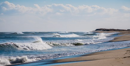 East Orleans Cape Cod vacation rental - Surfs up at Nauset Beach!