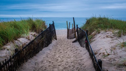 East Orleans Cape Cod vacation rental - Gateway to paradise at Nauset Beach. Early morning.
