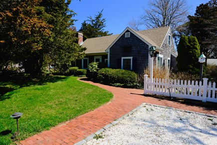 East Orleans Cape Cod vacation rental - Street view. Parking available for two cars in front.