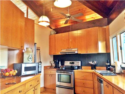 Truro Cape Cod vacation rental - View of kitchen.