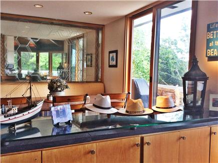 Truro Cape Cod vacation rental - View of dining room.