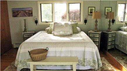 Truro Cape Cod vacation rental - Upper level master suite with king size bed.