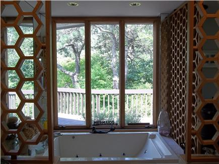 Truro Cape Cod vacation rental - Master bathroom suite with jacuzzi for two.