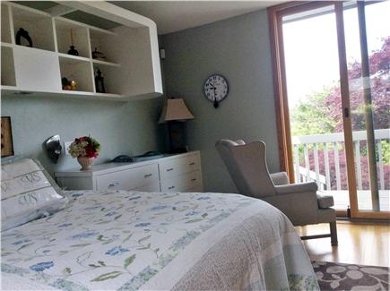 Truro Cape Cod vacation rental - Upper level guest bedroom with king size bed.