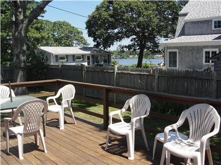 Falmouth Heights Beach Cape Cod vacation rental - View of saltwater inlet from rear deck