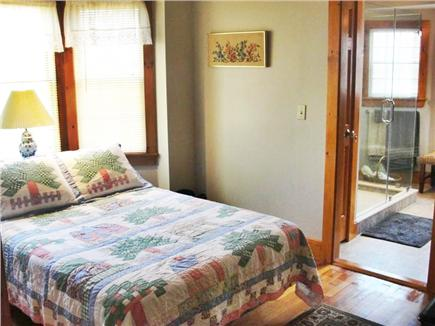Falmouth Heights Beach Cape Cod vacation rental - Master bedroom - Double w/Master Bath