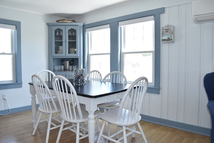 Dennisport Cape Cod vacation rental - Dining area with ocean view.