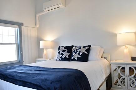 Dennisport Cape Cod vacation rental - 2nd Floor: BR #1: Master Bedroom w/ Queen Bed, TV & ocean views