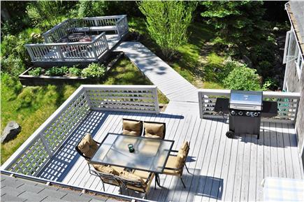 South Yarmouth Cape Cod vacation rental - Dual back decks!