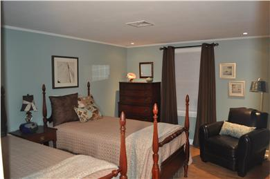 South Yarmouth Cape Cod vacation rental - Fourth bedroom with (2) Twin Size Beds