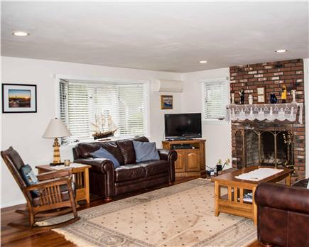 Wellfleet Cape Cod vacation rental - Spacious and comfortable Living Room w/ Central AC