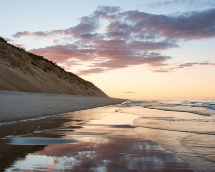 Wellfleet Cape Cod vacation rental - Beautiful LeCount Hollow Beach at dusk - Nice time for a walk