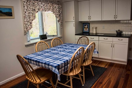 Wellfleet Cape Cod vacation rental - Dining Area in Eat-in Kitchen
