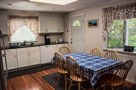 Wellfleet Cape Cod vacation rental - Another view of newly updated eat in Kitchen