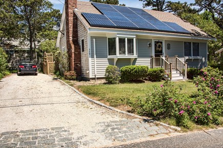 Wellfleet Cape Cod vacation rental - Large Driveway for 3 car off street parking