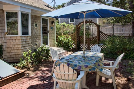 Wellfleet Cape Cod vacation rental - Private patio/ shower/BBQ  - great for after beach cocktail