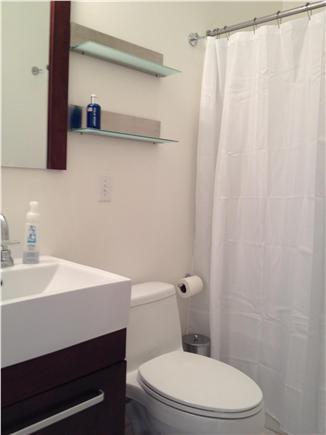 Wellfleet Cape Cod vacation rental - Second Floor Bathroom with Tub / Shower
