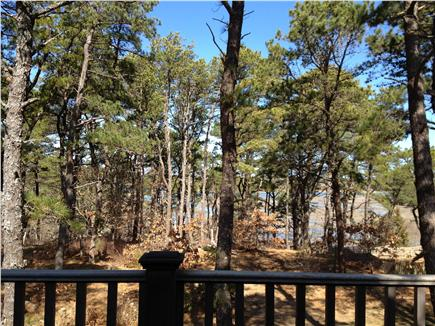 Wellfleet Cape Cod vacation rental - View of Blackfish Creek from Upper deck