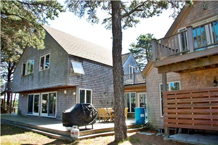 Wellfleet Cape Cod vacation rental - Back of House with Outdoor Shower