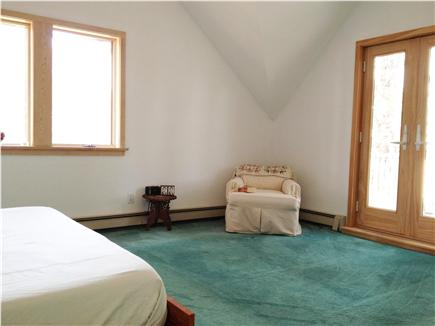 Wellfleet Cape Cod vacation rental - Master Bedroom with Deck