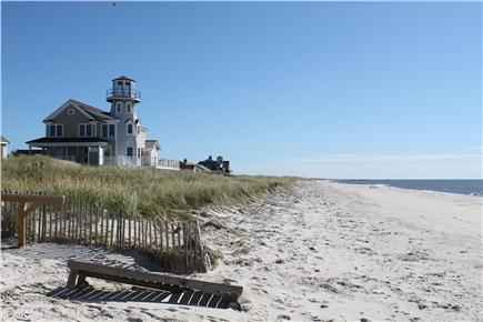 West Yarmouth Cape Cod vacation rental - Right side beach view