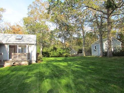 Harwich Cape Cod vacation rental - Large back yard