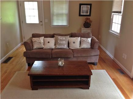 Harwich Cape Cod vacation rental - Family room with 50 inch tv.