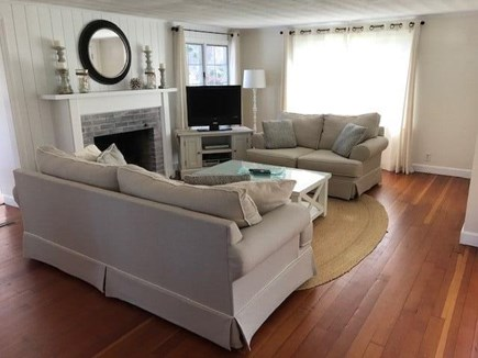 Brewster, MA Cape Cod vacation rental - Living room main seating area