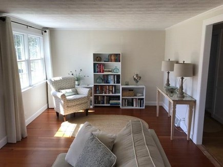 Brewster, MA Cape Cod vacation rental - Living room reading area