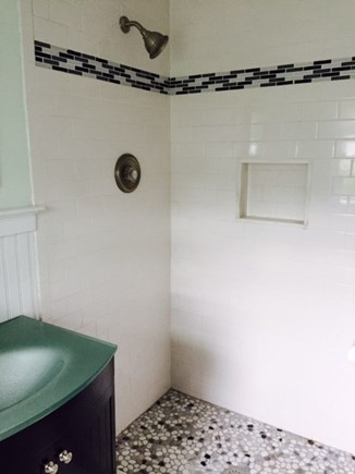 West Harwich Cape Cod vacation rental - Master bath renovation