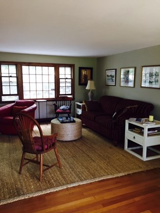 West Harwich Cape Cod vacation rental - Nice living area in the front of the house