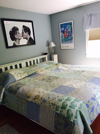 West Harwich Cape Cod vacation rental - Master bedroom with full bath