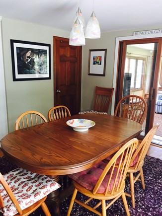 West Harwich Cape Cod vacation rental - Dining area with seating for 10