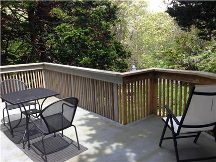 East Orleans Cape Cod vacation rental - Master Bedroom Deck