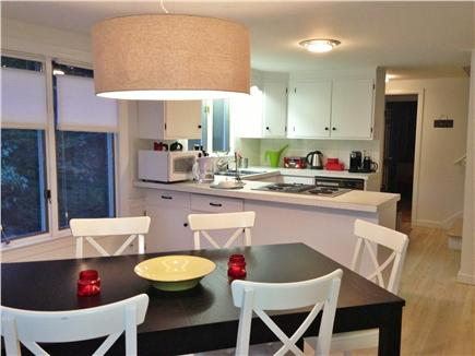 East Orleans Cape Cod vacation rental - Look toward kitchen from dining area