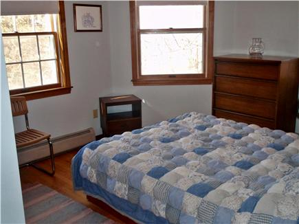 Brewster Cape Cod vacation rental - 3rd bedroom with queen - first floor