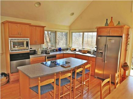 Orleans Cape Cod vacation rental - Open kitchen invites socializing during meal prep