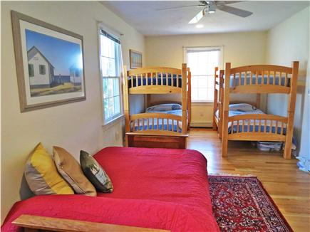 Orleans Cape Cod vacation rental - Main house bunk room with futon on lower level