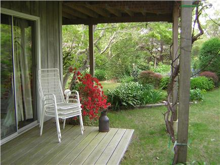 Wellfleet Cape Cod vacation rental - Your deck off the sitting room