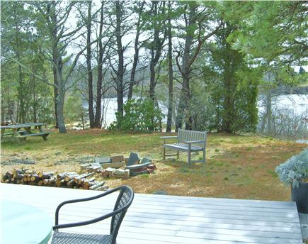 Eastham Cape Cod vacation rental - Peace and tranquility in the back yard.